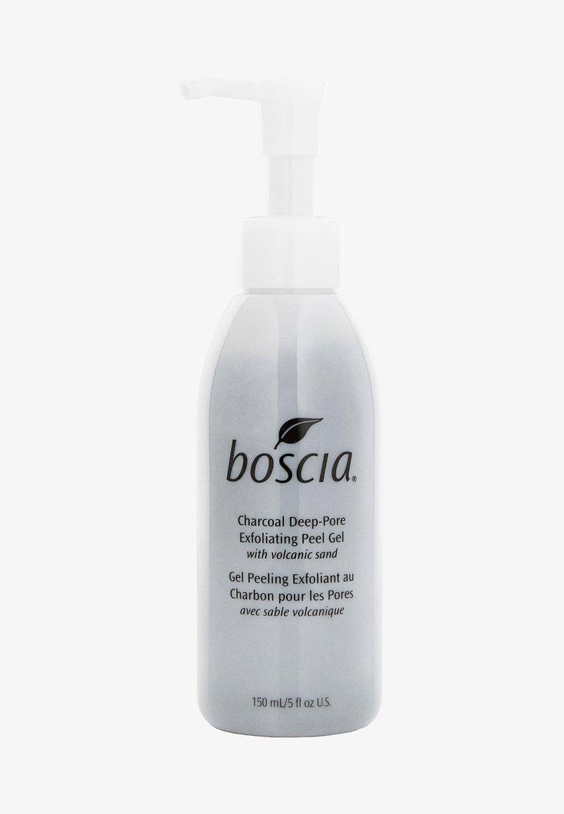 Boscia - CHARCOAL DEEP-PORE EXFOLIATING PEEL GEL WITH VOLCANIC SAND - Peeling - black