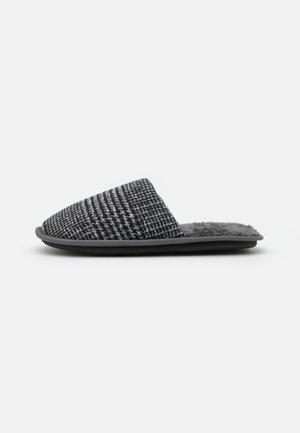 POW CHECK MULE - Pantofole - mid grey