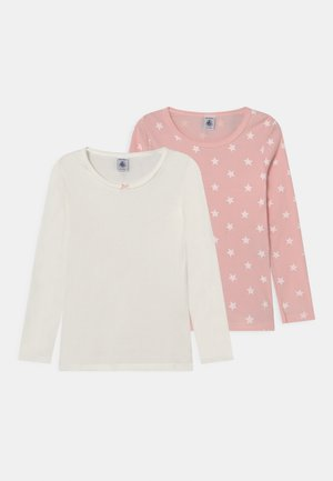 2 PACK - Long sleeved top - light pink