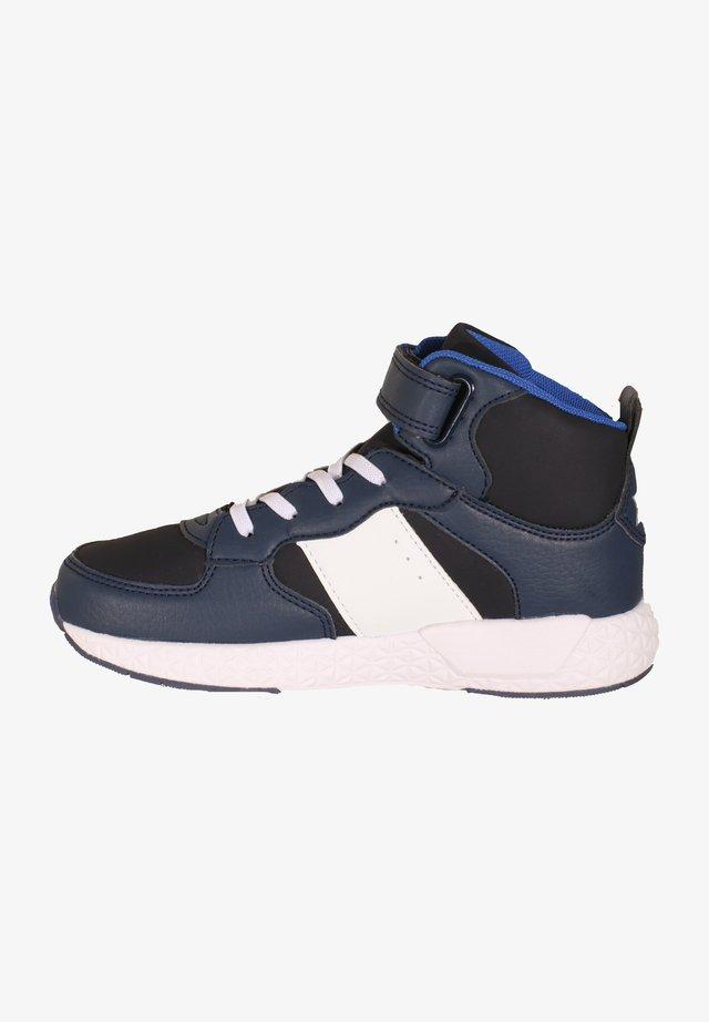 Sneakers high - blau