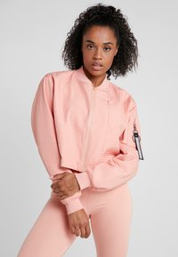 Nike Performance - TECH PACK BOMBER - Treningsjakke - pink quartz/black - 0