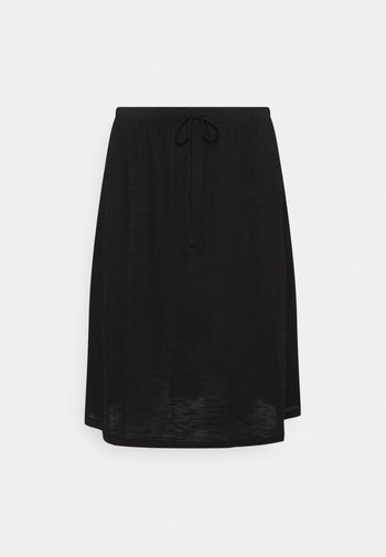 VINOEL SKIRT - A-line skirt - black