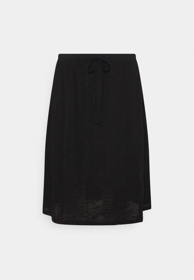 VINOEL SKIRT - Áčková sukně - black