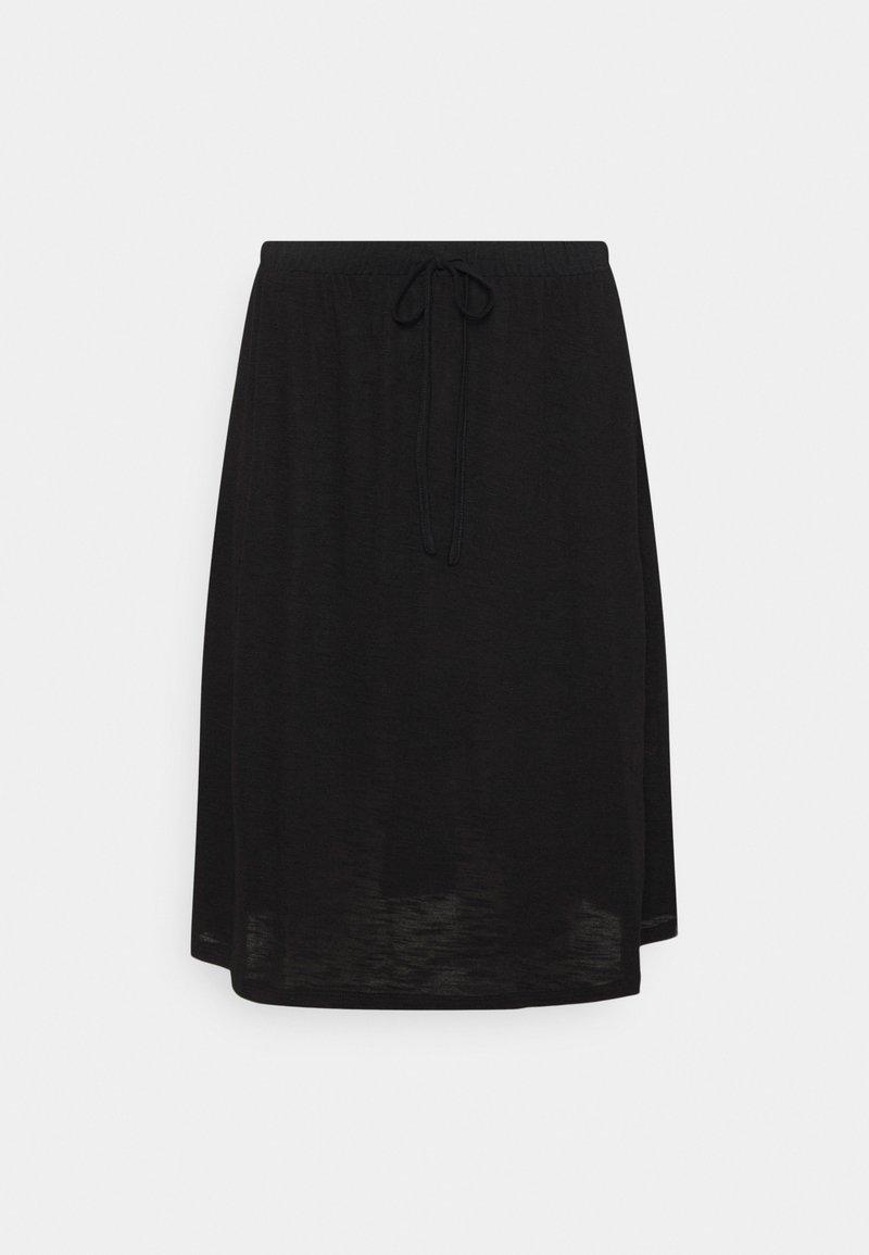 Vila - VINOEL SKIRT - A-line skirt - black