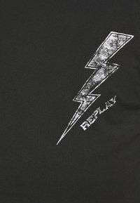 Replay - T-shirt med print - blackboard - 5