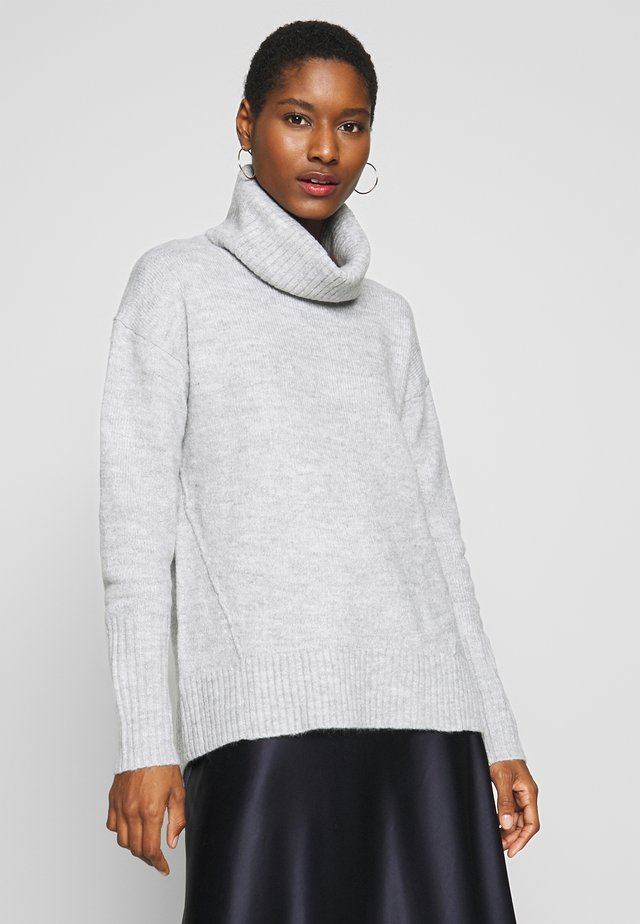 Pullover - light heather grey