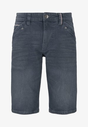 JOSH - Short en jean - blue grey denim