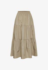 Kaffe - KAMOLLY - Maxi skirt - classic sand - 4