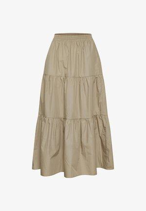 KAMOLLY - Maxi skirt - classic sand