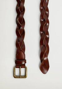Mango - DAVID - Pletený pásek - bruin - 2