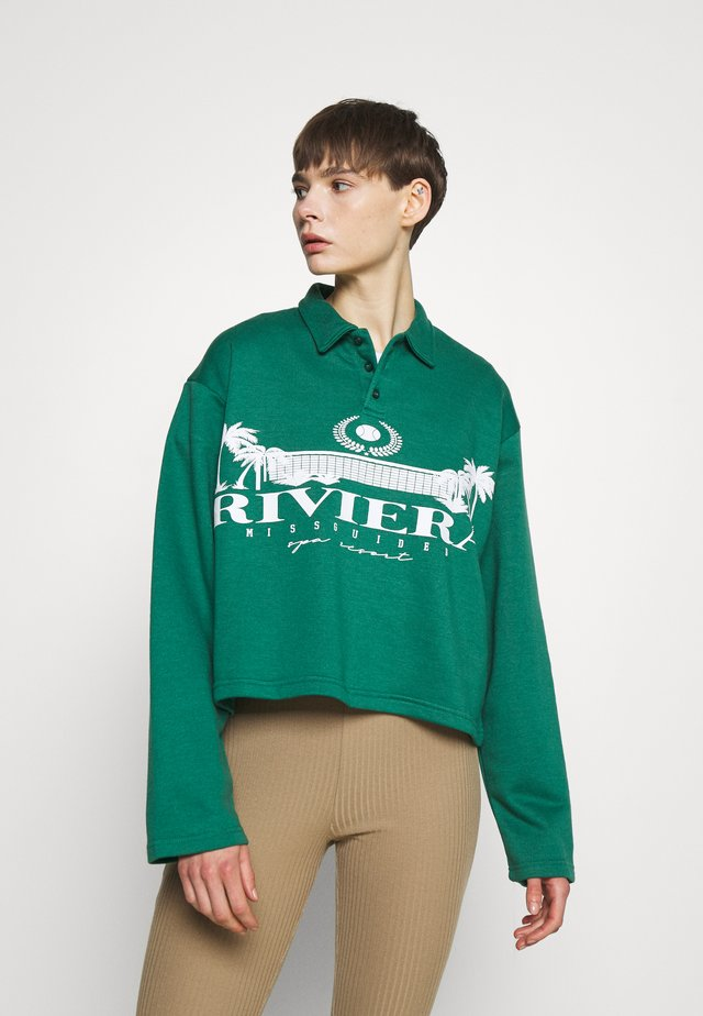 OVERSIZED FIT - Mikina - green