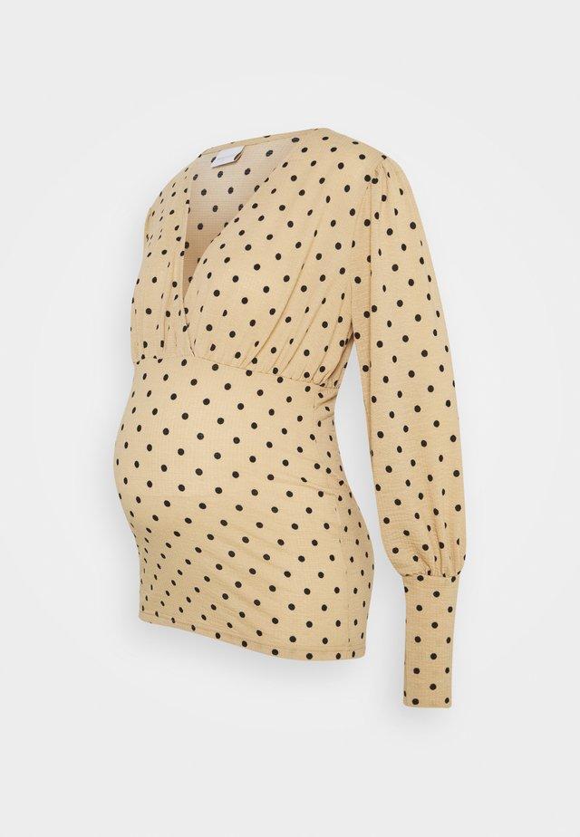 MLCELINA TESS - Långärmad tröja - black