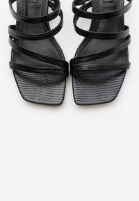 Topshop - DIXIE MULE - Pantofle na podpatku - black - 5
