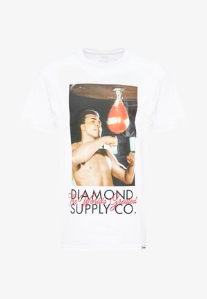 WORLD GREATEST SHORT SLEEVE TEE - Print T-shirt - white
