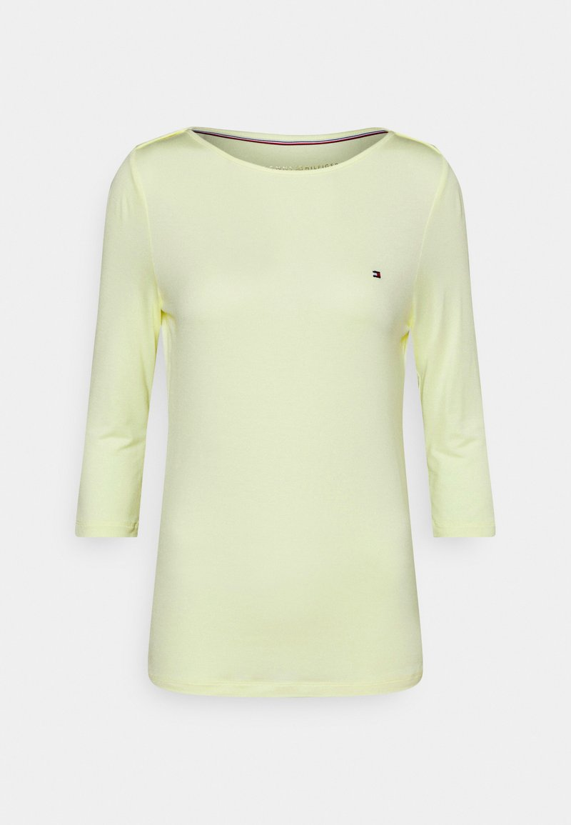 Tommy Hilfiger - BOAT NECK TEE - Long sleeved top - frosted lemon