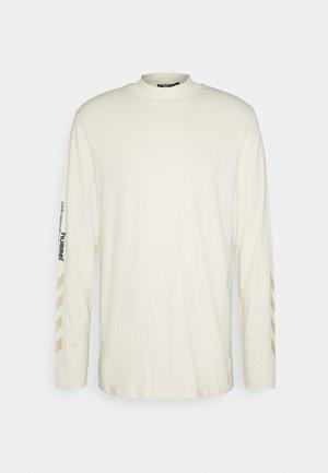 SUBURB UNISEX - Long sleeved top - white aspargus