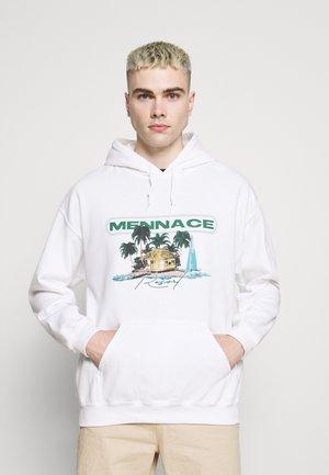 HAVANA RESORT REGULAR HOODIE - Sweatshirt - off white