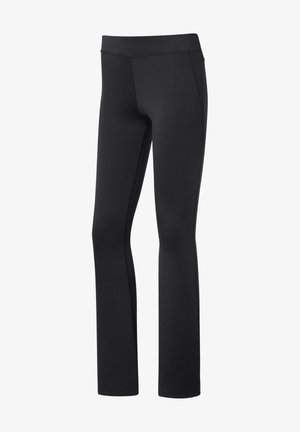 WORKOUT READY BOOT CUT PANTS - Pantalones - black