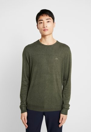 ROUND NECK - Jumper - army