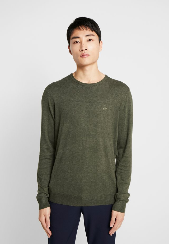 ROUND NECK - Pullover - army