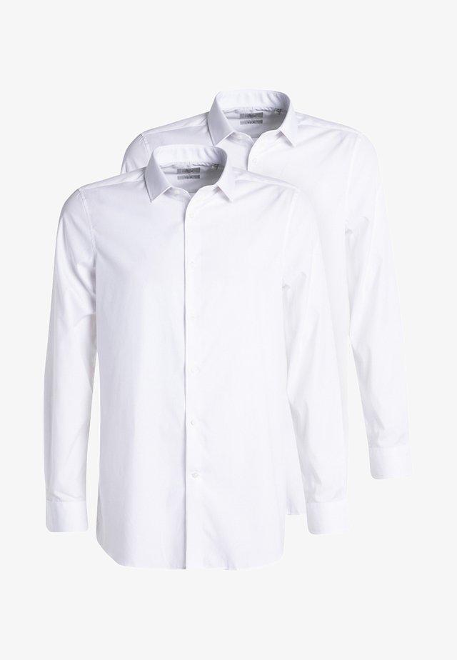 2 PACK - Formální košile - white