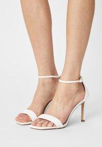 Buffalo - VEGAN ROSABELLA - Sandals - white - 0