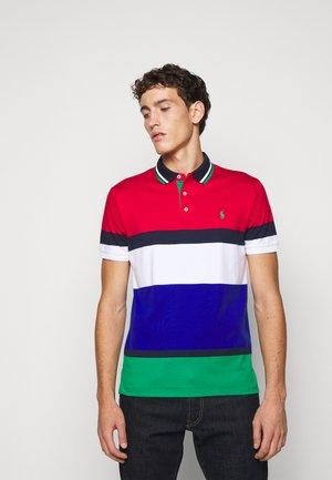 SOFT TOUCH - Poloshirt - red/multi