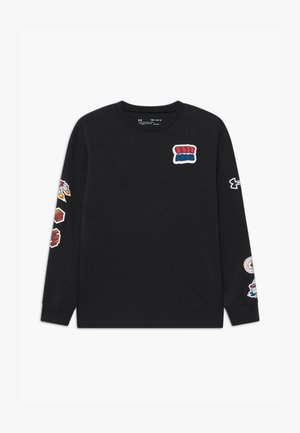 BOYS GRAPHIC  - Long sleeved top - black