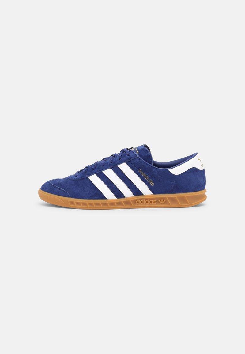 adidas Originals - HAMBURG UNISEX - Matalavartiset tennarit - victory blue/white