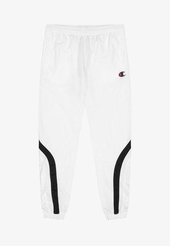 ROCHESTER - Tracksuit bottoms - white/black/white