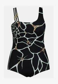Ulla Popken - Swimsuit - zwart - 1