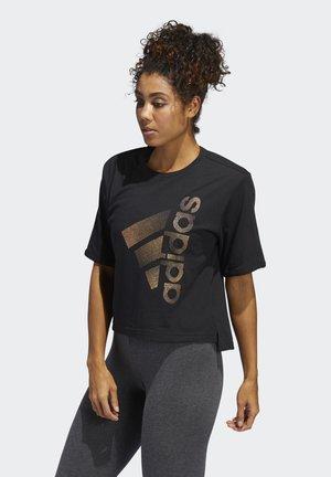 HOLIDAY TEE W - T-shirt med print - black