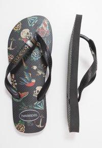 Havaianas - TRIBO UNISEX - Pool shoes - black - 0