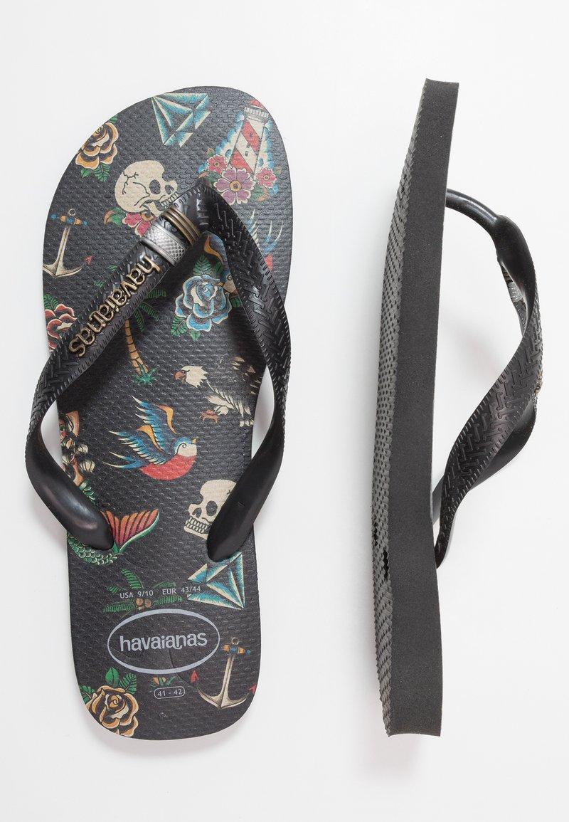 Havaianas - TRIBO UNISEX - Pool shoes - black