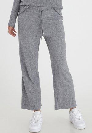 BYMILO - Tracksuit bottoms - mid grey melange