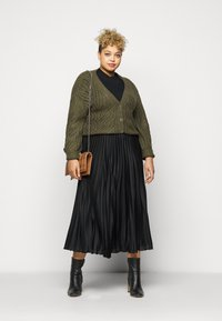 Persona by Marina Rinaldi - CARDINE - Pleated skirt - black - 1