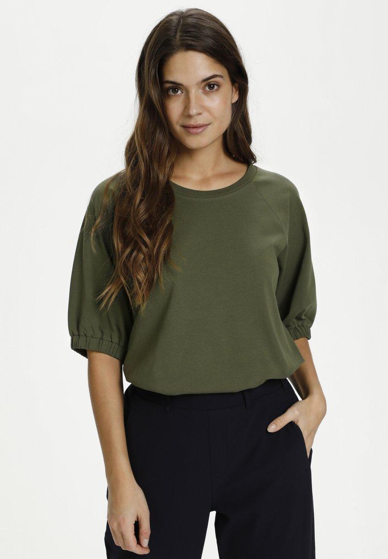 Kaffe - LINDA  - Basic T-shirt - grape leaf