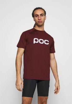 REFORM ENDURO TEE - T-Shirt print - red