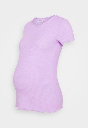 OLMEMMA - Basic T-shirt - pastel lilac