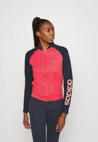 adidas Performance - NEW MARK SET - Treningsdress - pink/blue - 0