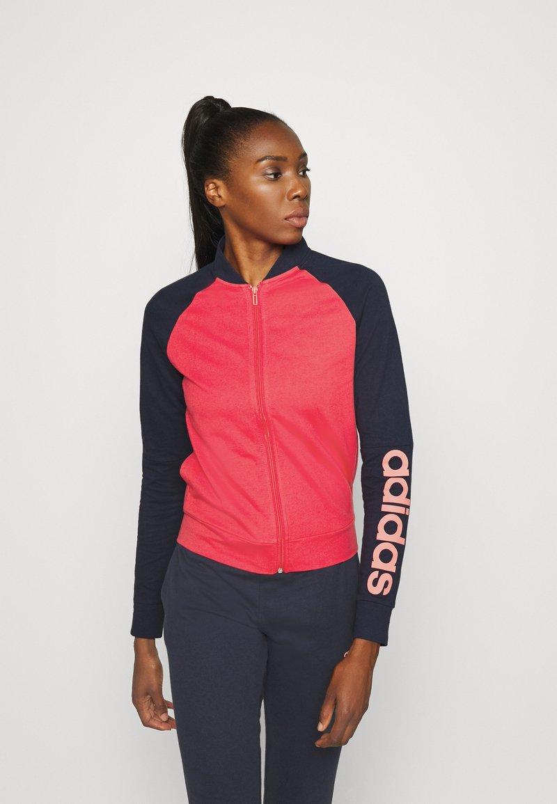 adidas Performance - NEW MARK SET - Treningsdress - pink/blue