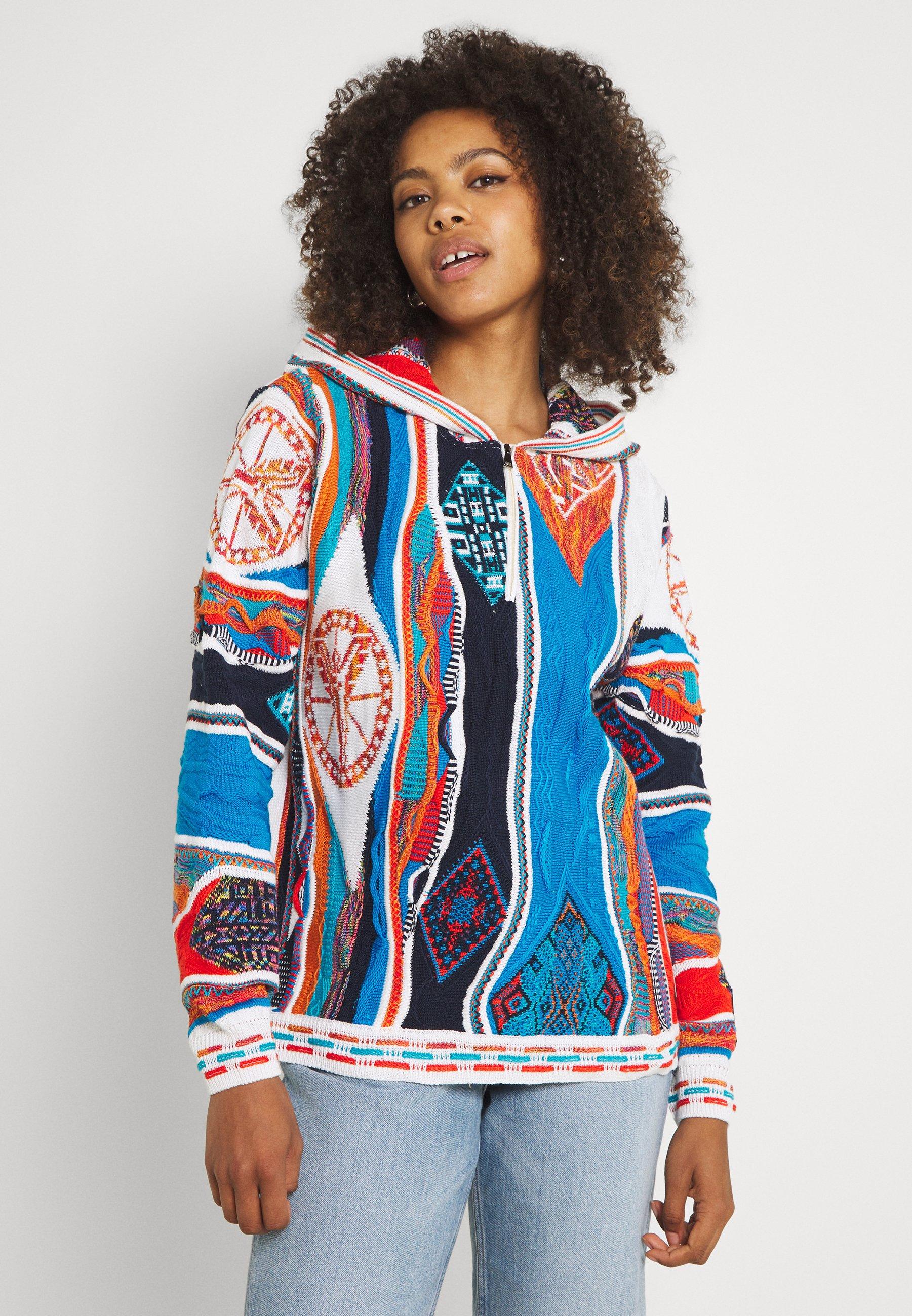 Femme HOODIE WITH ZIP - Pullover