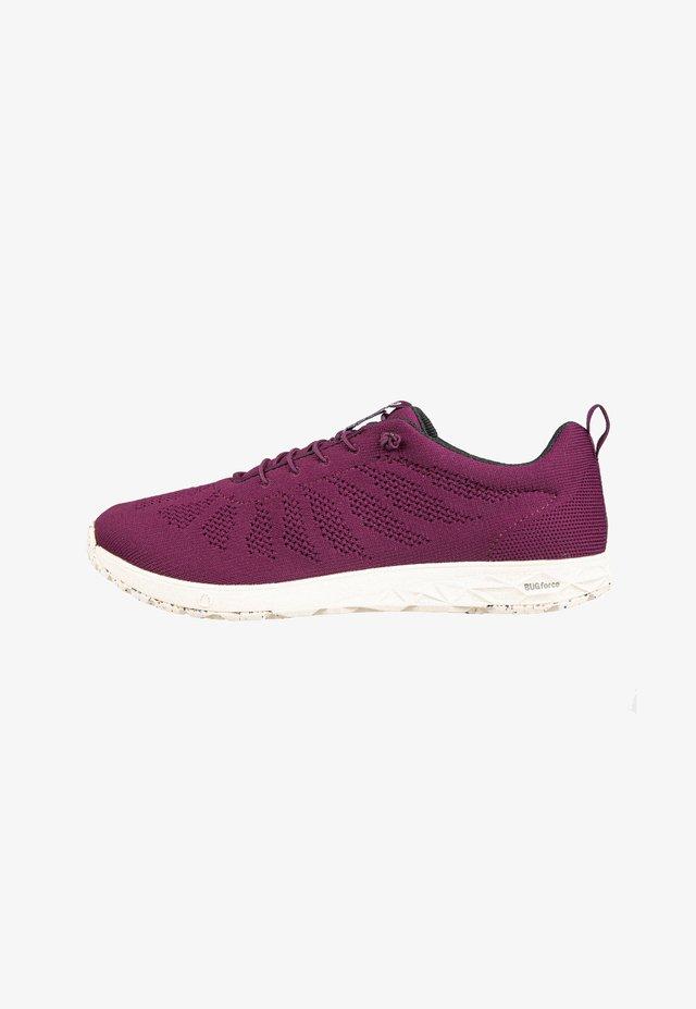 Sneakers laag - crimson
