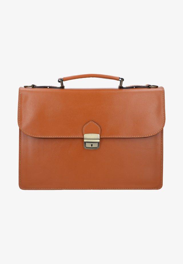 NEIL - Briefcase - cognac