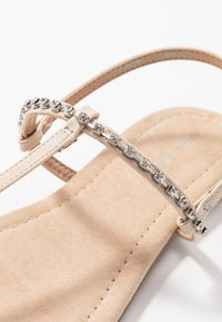 Anna Field Wide Fit - T-bar sandals - nude - 2