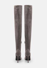 Even&Odd - Laarzen met hoge hak - grey - 3