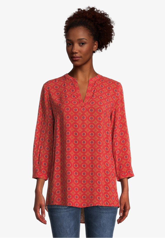 Blouse - red/red