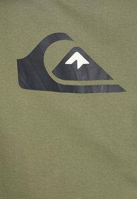 Quiksilver - COMP LOGO - Print T-shirt - four leaf clover - 6