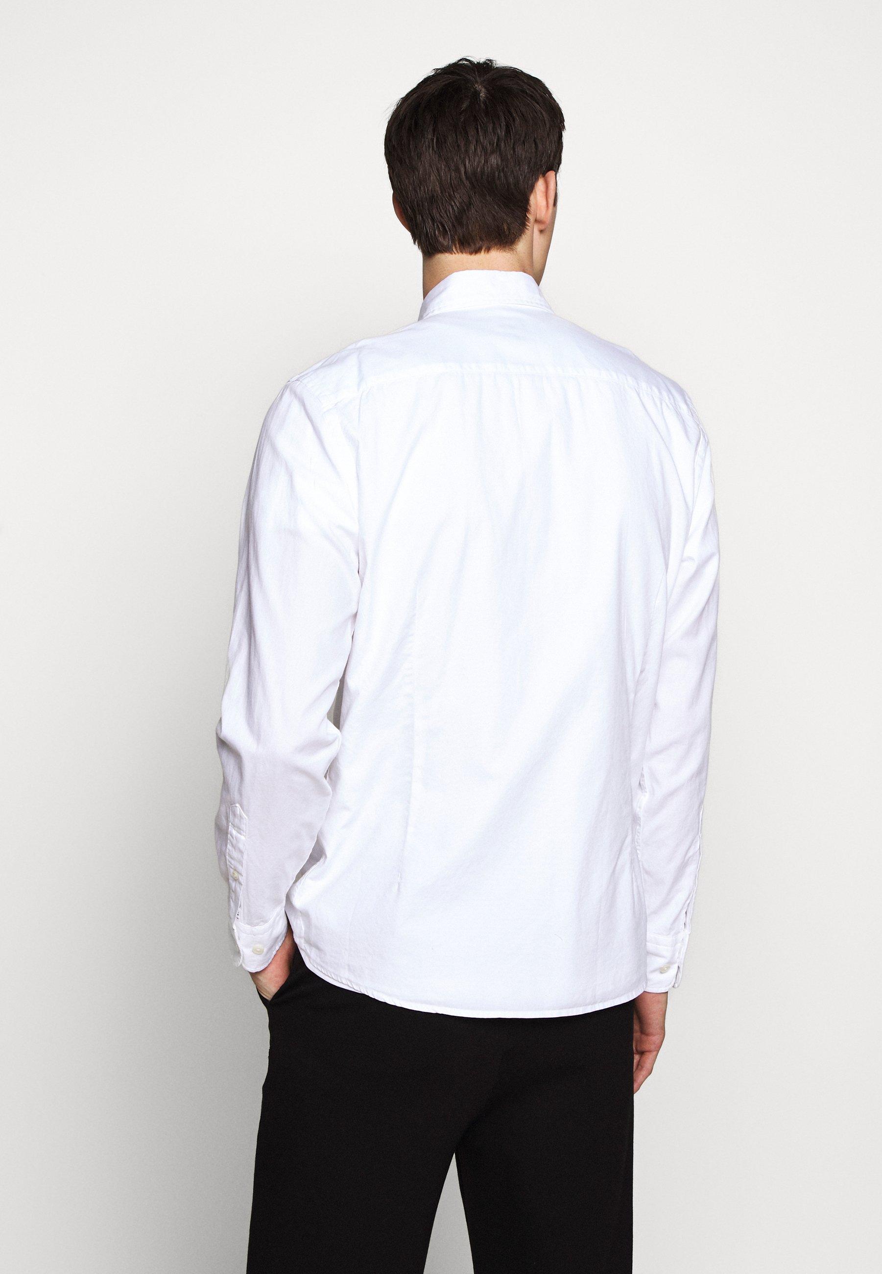 Ennakkotilaus Miesten vaatteet Sarja dfKJIUp97454sfGHYHD Hackett London Kauluspaita optic white