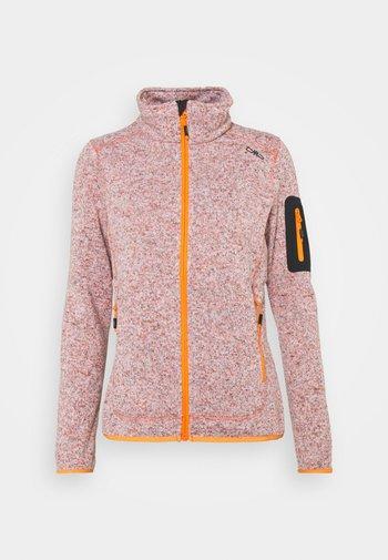 WOMAN JACKET - Fleece jacket - orange